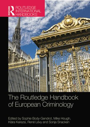 The Routledge Handbook of European Criminology: 1st Edition (Paperback) book cover