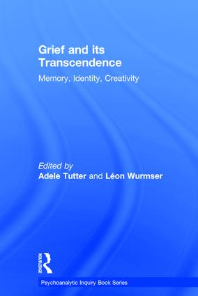 Grief and Its Transcendence: Memory, Identity, Creativity book cover