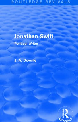 Jonathan Swift (Routledge Revivals): Political Writer, 1st Edition (Paperback) book cover