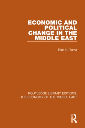 Economic and Political Change in the Middle East (RLE Economy of Middle East) book cover
