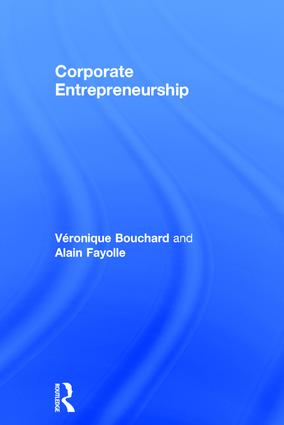 Corporate Entrepreneurship: 1st Edition (Hardback) book cover