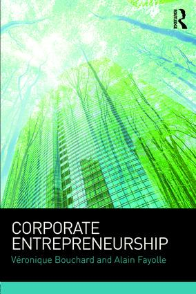 Corporate Entrepreneurship: 1st Edition (Paperback) book cover