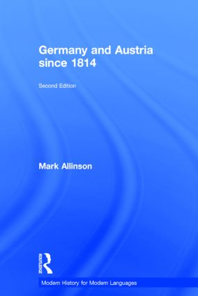 Germany and Austria since 1814 book cover