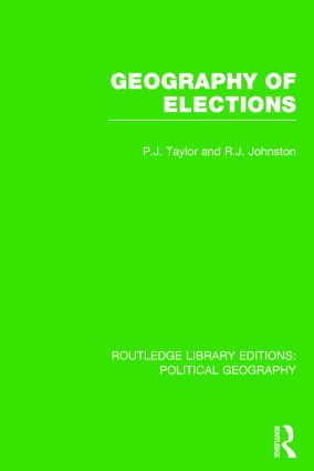 Geography of Elections (Routledge Library Editions: Political Geography) book cover