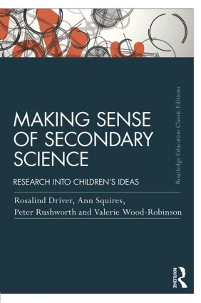 Making Sense of Secondary Science: Research into children's ideas book cover