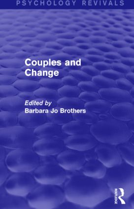 Couples and Change (Psychology Revivals) (Hardback) book cover