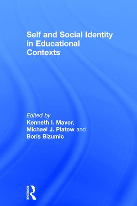 Self and Social Identity in Educational Contexts: 1st Edition (Hardback) book cover