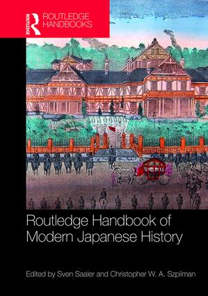 Routledge Handbook of Modern Japanese History book cover