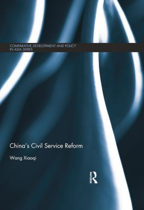 China's Civil Service Reform: 1st Edition (Paperback) book cover