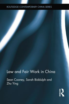 Law and Fair Work in China book cover