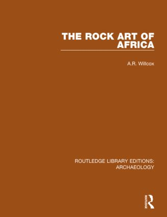 The Rock Art of Africa book cover
