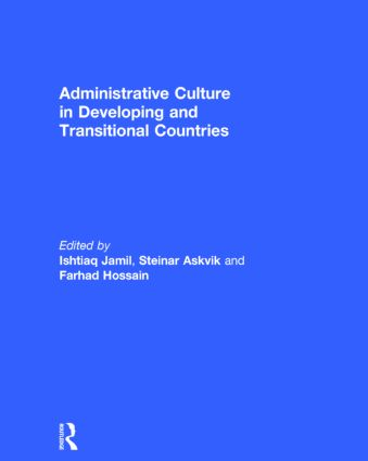 Administrative Culture in Developing and Transitional Countries: 1st Edition (Hardback) book cover