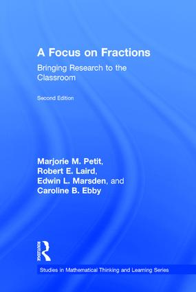 A Focus on Fractions: Bringing Research to the Classroom, 2nd Edition (Hardback) book cover