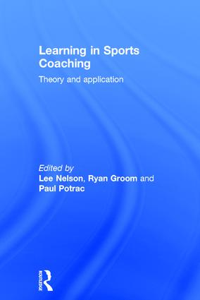 Learning in Sports Coaching: Theory and Application book cover