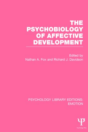 The Psychobiology of Affective Development book cover
