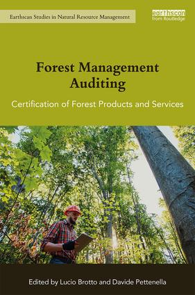 Forest Management Auditing: Certification of Forest Products and Services book cover