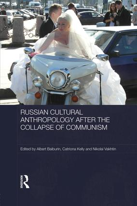 Russian Cultural Anthropology after the Collapse of Communism: 1st Edition (Paperback) book cover