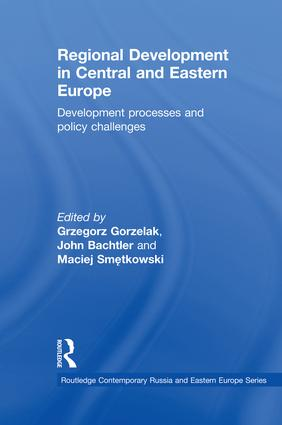 Regional Development in Central and Eastern Europe: Development processes and policy challenges, 1st Edition (Paperback) book cover
