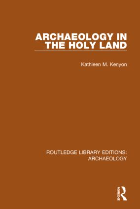 Archaeology in the Holy Land book cover