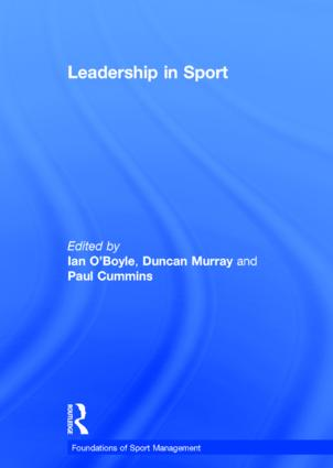 Leadership in Sport book cover