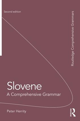 Slovene: A Comprehensive Grammar book cover