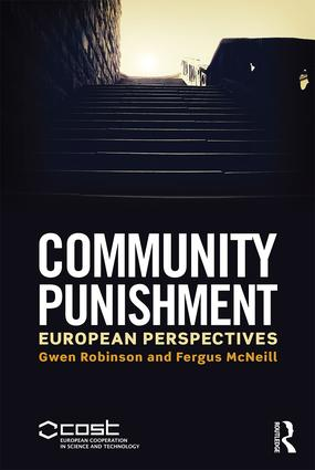 Community Punishment: European perspectives book cover
