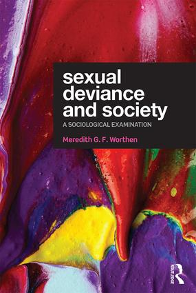 Sexual Deviance and Society: A sociological examination (Paperback) book cover