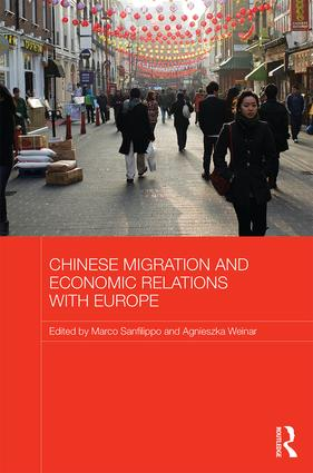 Chinese Migration and Economic Relations with Europe (Hardback) book cover