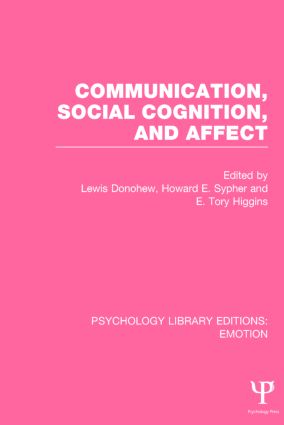 Communication, Social Cognition, and Affect book cover