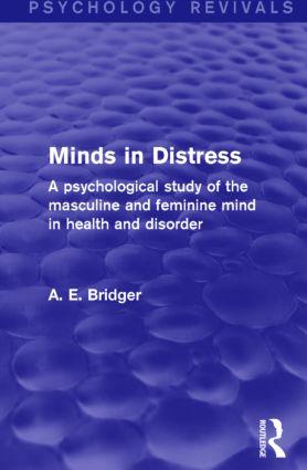 Minds in Distress (Psychology Revivals)