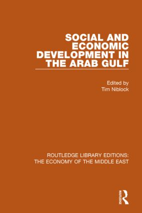 Social and Economic Development in the Arab Gulf book cover