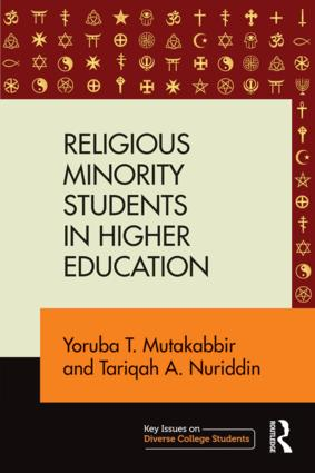 Religious Minority Students in Higher Education: 1st Edition (Paperback) book cover