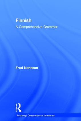 Finnish: A Comprehensive Grammar book cover