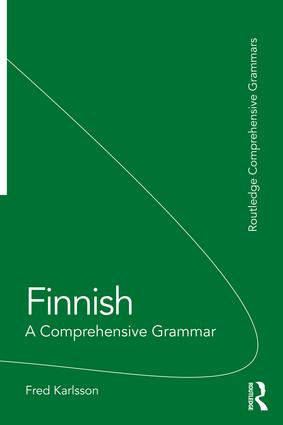 Finnish: A Comprehensive Grammar, 1st Edition (Paperback) book cover