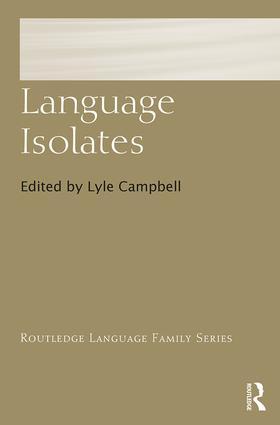 Language Isolates book cover