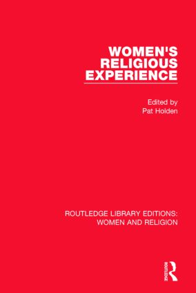 Women's Religious Experience: 1st Edition (Paperback) book cover