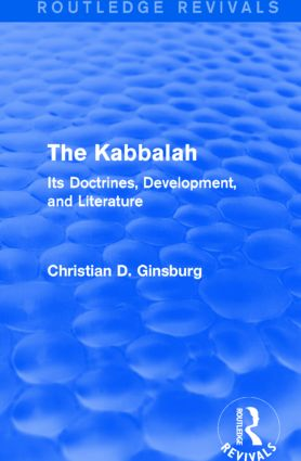 The Kabbalah (Routledge Revivals)