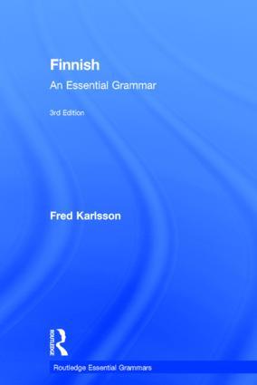 Finnish: An Essential Grammar book cover