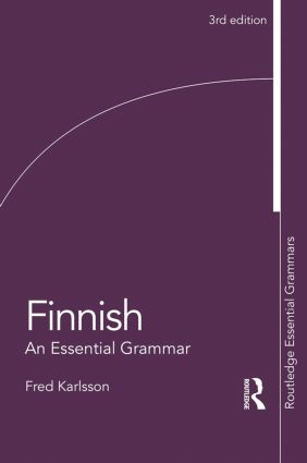 Finnish: An Essential Grammar book cover