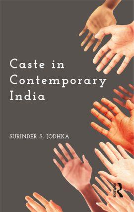 Caste in Contemporary India: 1st Edition (Hardback) book cover