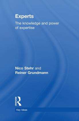 Experts: The Knowledge and Power of Expertise book cover