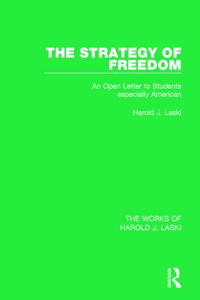The Strategy of Freedom (Works of Harold J. Laski)