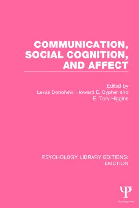 Communication, Social Cognition, and Affect: 1st Edition (Paperback) book cover