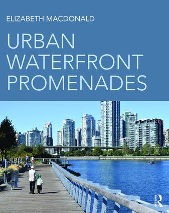 Urban Waterfront Promenades book cover