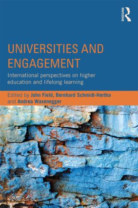 Universities and Engagement: International perspectives on higher education and lifelong learning, 1st Edition (Paperback) book cover