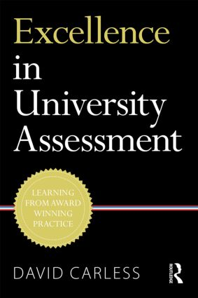 Excellence in University Assessment: Learning from award-winning practice, 1st Edition (Paperback) book cover