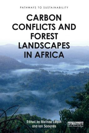 Carbon Conflicts and Forest Landscapes in Africa (Paperback) book cover