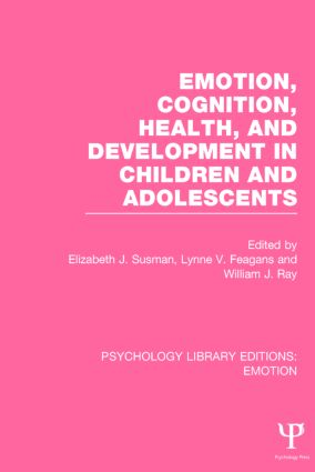 Emotion, Cognition, Health, and Development in Children and Adolescents book cover