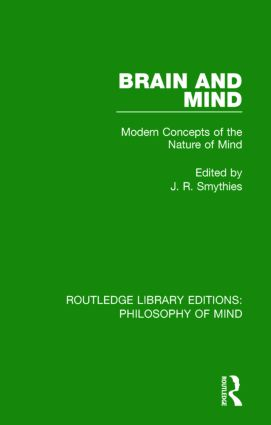 Brain and Mind: Modern Concepts of the Nature of Mind, 1st Edition (Paperback) book cover
