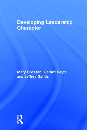 Developing Leadership Character: 1st Edition (Hardback) book cover